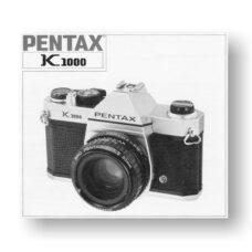 Pentax K1000 Owners Manual Download