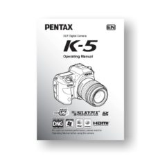 Pentax K-5 Owners Manual Download