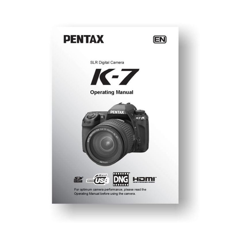 Download Pentax K-30 PDF User Manual Guide