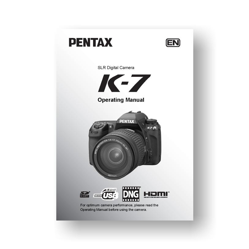pentax k 7 owners manual download uscamera downloads parts rh uscamera com pentax k5 owners manual pentax k3 owner's manual