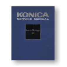 Koni-Omega M Service Manual download for the Koni-Omega M Service Manual | Medium Format Film Cameras