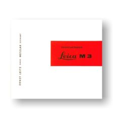 Leica M3 Owners Manual Download