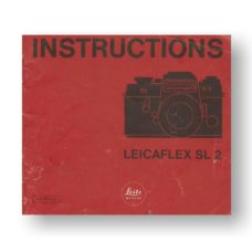 Leica Leicaflex SL2 Owners Manual Download