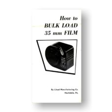 Lloyds 35mm Film Bulk Loader Owners Manual Download