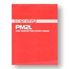 Beseler PM2L Color Analyzer Owners Manual Download