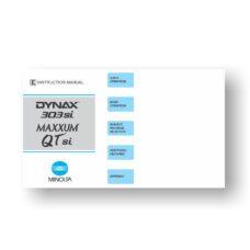 Minolta Maxxum QTsi Owners Manual Download