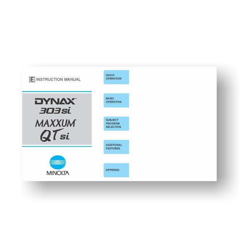 Minolta Maxxum Qtsi Owners Manual Download Uscamera border=