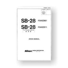 Nikon SB-28 Repair Manual