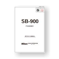 Nikon SB-900 Repair Manual