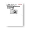 20-page PDF 1.53 MB download for the Canon SD1200IS Parts Catalog