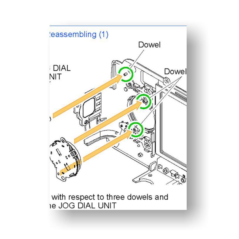 Canon PowerShot SX100 IS Service Manual Parts List Download