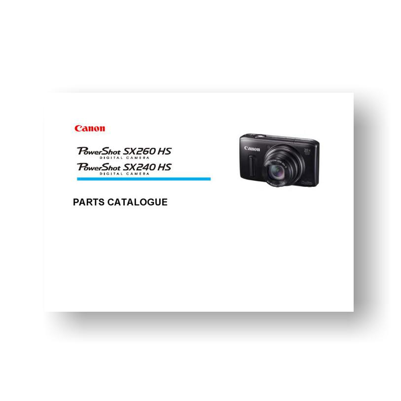 Canon Camera Sx260hs Manual