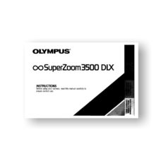 Olympus Infinity SuperZoom 3500 Owners Manual Download