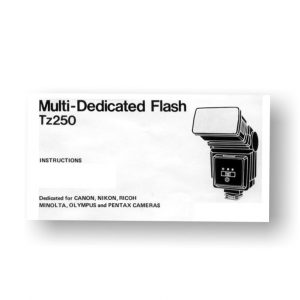 Achiever TZ250 Flash Owners Manual Download