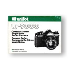 Unifot UF-9000 Owners Manual Download