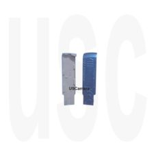 Olympus VG4175 Battery Cover Metallic Blue | u-820 | Stylus-840