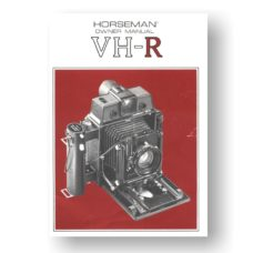 Horseman VH-R Owners Manual Download (VHR-OM