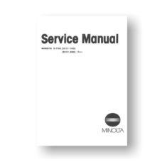 Minolta X700 Service Manual Parts List Download