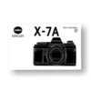 Minolta X-7A Owners Manual Download