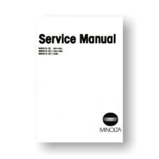 Minolta 081 Service Manual | XE | XE-5 | XE-7