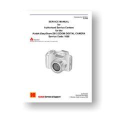Kodak Z612 Service Manual   Easyshare Z612