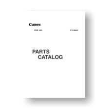 30-page PDF 816 KB download for the Canon C12-6031 Parts Catalog | EOS 10D
