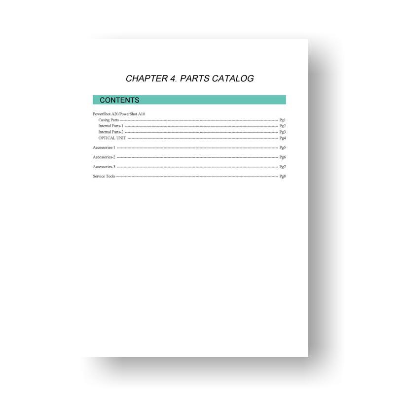 canon powershot d20 manual download