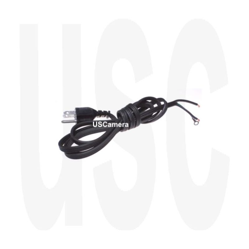 Beseler Lamp House 120 VAC Power Cord 10-43748