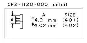 Canon CF2-1120 Lens Key