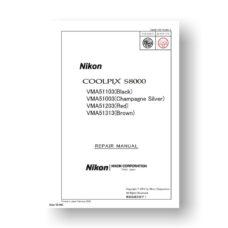 137-page PDF 10.53 MB download for the Nikon Coolpix S8000 Repair Manual | Digital Camera
