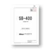 Nikon SB-400 Repair Manual
