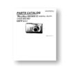 Canon PowerShot SD1300 IS Parts List Download