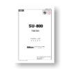 Nikon Speedlight SU 800 Parts List Download