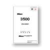 Nikon D500 Parts List Download