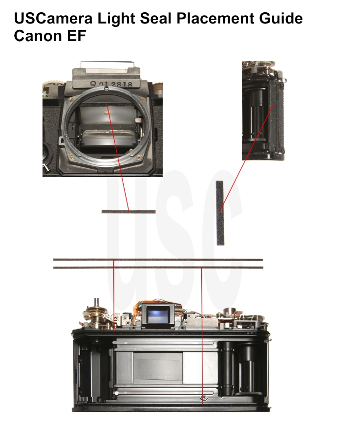 Canon EF Custom Light Seal Kit