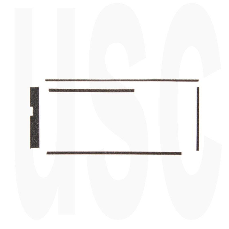 Olympus XA1 Custom Light Seal Kit