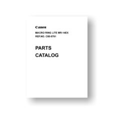 Canon MR-14EX Parts List
