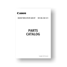 Canon MT-26EX-RT Parts List