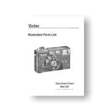 Vivitar 35EF Parts Download