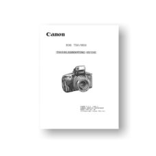 Canon EOS 750-850 Troubleshooting