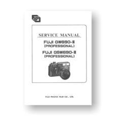 Fuji GW690III-GSW690III Service Manual Parts List Download