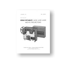 Kodak 768999 Service Manual Download | Kodak Instamatic Projectors