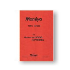 Mamiya NC1000 Parts List Download