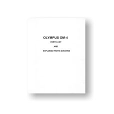Olympus OM-4 Parts List | Download