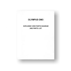 Olympus OM3 Parts List Download
