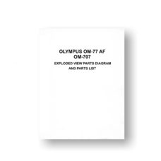 Olympus OM-77AF Parts List Download