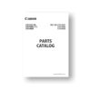 Canon EOS Rebel T7i Parts List