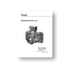Vivitar XC-2 Parts List Download