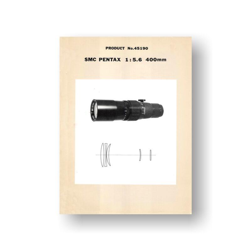 Pentax 400 5.6 45190 Parts | Pentax SMC Lenses