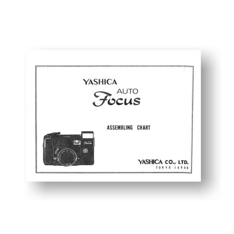 Yashica Auto Focus Parts